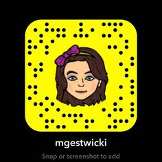 I'm on snap chat at mgestwicki, you can add me. Snapchat Usernames, Snapchat Codes, Snapchat Users, Snapchat Girls, How To Get Snapchat, More Followers, Facebook Marketing, Latest Movies, How To Find Out