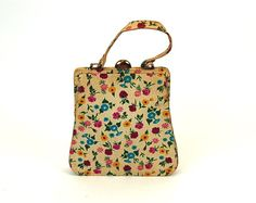 Hey, I found this really awesome Etsy listing at https://www.etsy.com/listing/179098544/1950s-handbag-palizzio-bag-floral-purse