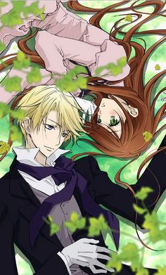 Edgar J. C. Ashenbert & Lydia Carlton - Earl And Fairy,Anime