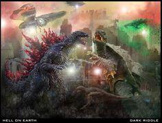 Filmy z godzilla i Gamera - Szukaj w Google
