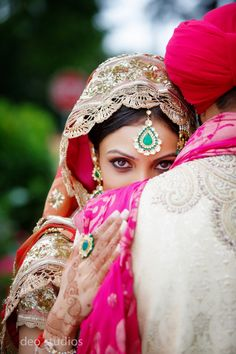 Super beautiful pic! Captures the beauty of an Indian wedding!