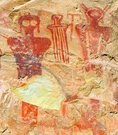 Petroglyphs at Sego Canyon, Utah