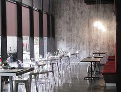 Concrete Wallpaper by Tom Haga  No.23 in a cafe in Australia