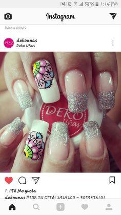Diy Nail Designs, Up Halloween, Nail Accessories, Arabesque, Diy Nails, Beauty Hacks, Nail Polish, Mandala, Fit