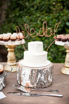 We Do - Cake topper
