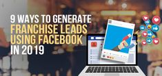 More than 90% of the B2B marketers use Facebook for lead generation. As the users of Facebook increasing day by day, a franchisor must know the different ways to generate Franchise Leads using Facebook in 2019.  #Generate #Franchise #Leads #LeadGeneration #Facebook Facebook Paid Ads, Facebook Video, Marketing Report, Facebook Marketing, Image Caption, In 2019, Will Turner, Lead Generation