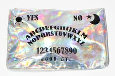The past and the future meet with this rad holographic clutch @Sam McHardy McHardy Taylor Coli so you.