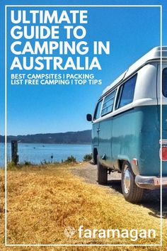 Ultimate guide to camping in Australia includes 5 ways to find campsites camping essentials 10 top campsites tips for freedom camping in Australia wildlife advice camping recipes and more! Campervan Australia, Roadtrip Australia, Australia Travel Guide, Camping Life, Camping Meals, Family Camping, Camping Hacks, Camping Recipes, Camping Items
