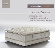 Topper Nerva, ¡todo descanso y suavidad! Para un descanso completo prueba nuestro toppers, ¡te van a encantar!