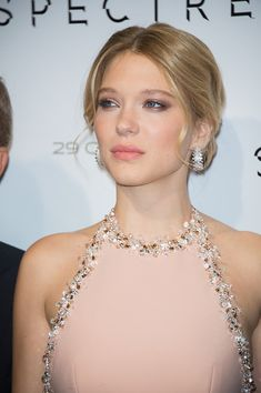 Lea Seydoux attends the 'Spectre' Paris Premiere at Le Grand Rex on October 29 2015 in Paris France