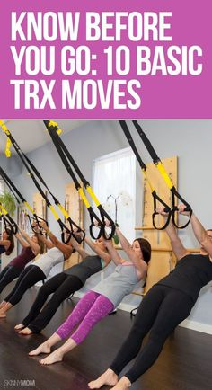 The 10 TRX moves you've got to know!