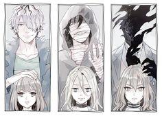 Indie Horror Rpgs - Heroines and their guardians Ib, Angel of Death/Slaughter, and. Manga Anime, Film Manga, Manga Art, Rpg Maker, Ib Game, Game Art, Angel Of Death, I Love Anime, Anime Guys