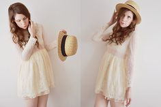 Picnic at Hanging Rock. (by Lola M) http://lookbook.nu/look/3266573-Picnic-at-Hanging-Rock