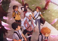 Voltron Japanese school kids<<<ahhh my heart i see the young klance :,) Shiro Voltron, Voltron Klance, Voltron Force, Voltron Comics, Voltron Memes, Voltron Fanart, Form Voltron, Voltron Ships, Voltron Allura