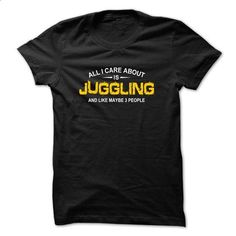 All care is Juggling - #tshirt decorating #sweatshirt diy. I WANT THIS => https://www.sunfrog.com/Funny/All-care-is-Juggling-Black.html?68278