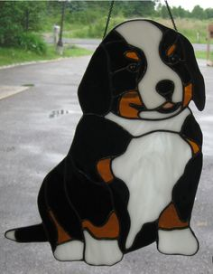 Dog Stained Glass Patterns | DJ's Stained Glass Comments Page