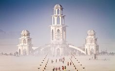 Burning Man : Photo by Scott London