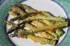 Szparagi pieczone w parmezanie
