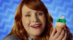 """""""Bryce Dallas How-To"""" with Bryce Dallas Howard - Dragon Cupcakes!"""