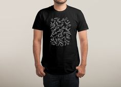 """Cosmic Burst"" by sirwwoods on men's t-shirts 