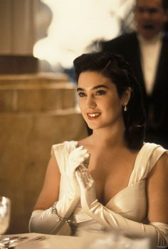 Jennifer Connelly in The Rocketeer Jennifer Connelly Rocketeer, Jenifer Conelly, Rocketeer Movie, Celebrity Film, Requiem For A Dream, Gal Gabot, Celebs, Celebrities, Classic Beauty