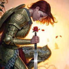 Uma guerreira da luz não precisa mostrar sua força...mas sua resistência...não precisa atacar ...mas pode pacificar...não precisa empunhar uma espada...mas pode enviar luz........ Núbia Ribas via guerreiros espirituais Facebook