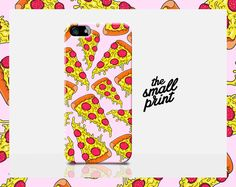 PIZZA SLICE iPhone Case PIZZA iPhone 5 case by TheSmallPrintCases, £10.99
