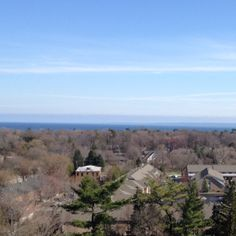 Overlooking Lake Ontario on a Saturday afternoon...