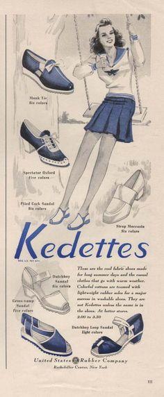 Kedettes Womens Shoes (1941)