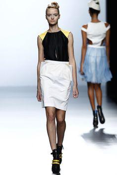 Leyre Valiente - Primavera-verano 2015 - Mercedes Benz Fashion Week Madrid