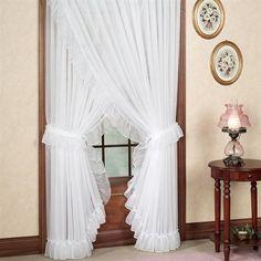 Jessica Ninon Ruffled Priscilla Curtains