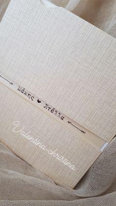 Χειροποίητα προσκλητήρια γαμου από μοναδικά είδη χαρτιών για όλα τα γούστα by valentina-christina  καλέστε 215157506 Ιδιαίτερα προσκλητήρια γαμου by valentina-christina #προσκλητήρια #προσκλητηρια #προσκλητήρια_γάμου#προσκλητήριο#prosklitiria#prosklitirio #weddingcard#valentinachristina Burlap, Reusable Tote Bags, Wedding Ideas, Weddings, Vintage, Hessian Fabric, Wedding, Vintage Comics, Marriage