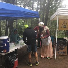 The #dpmr sure know how to throw a party #pioneerstyle #canyonsenduranceruns  #DonnerPartyMountainRunners aid station at #Cal2 #unafraid #runningonreefer #ultracommunity #cannabiskeepsmeactive