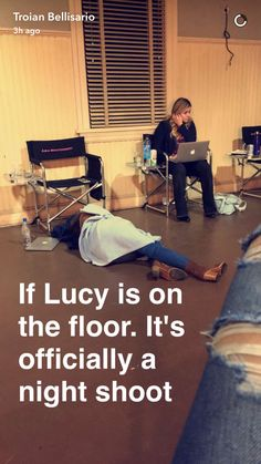 Pretty Little Liars- Aria Montgomery (Lucy Hale) on Troians snapchat story