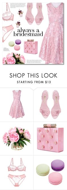 """""""Always a Bridesmaid"""" by fshionme ❤ liked on Polyvore featuring Katherine Kwei, Ladurée and alwaysabridesmaid"""