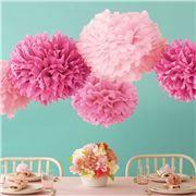Martha Stewart Crafts pink pom poms
