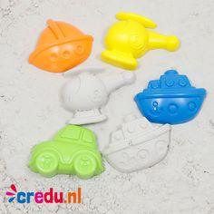 Zandvormen - http://credu.nl/product/zandvormen/