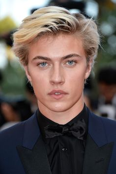 "Lucky Blue Smith | Attends the ""Julieta"" Premiere During The 69th Annual Cannes Film Festival at the Palais des Festivals on May 17, 2016 in Cannes, France ❤"