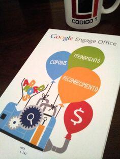 Muito satisfeito com o #brinde que o #Google #Engage #Office mandou para a Código 1 TI !  www.codigo1ti.com.br  First Strike Completo!