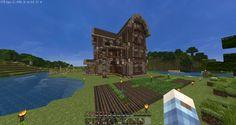Medieval-like House at VesiCraft Survival. vesicraft.net9.fi