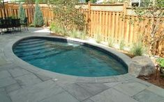 """An ideal pool for small yards. It delivers """"big"""" performance for swimming, exercising and just relaxing. Optional swim jets create a current that can be adjusted from a gentle front crawl to a pace that will challenge even a competitive swimmer. Comes in two lengths: 14 and 17 feet."""