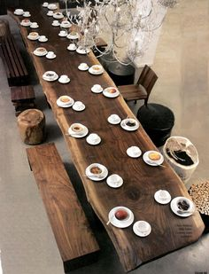 Walnut Slab Tabletop