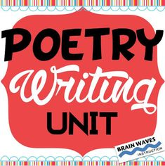 This Poetry Writing Unit provides students with a deep understanding of the poetry genre as they read and write poetry. In the eleven-day unit, students write ten different types of poetry. (That means that there's plenty of opportunities to excel at writing.) They'll study figurative language, elements of poetry, and learn how to write a poem.