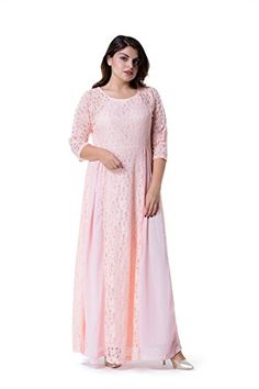 ESPRLIA Women's Plus Size Floral Lace 3/4 Sleeve Wedding ... https://www.amazon.com/dp/B074SJMWCH/ref=cm_sw_r_pi_dp_U_x_LBwzAbMM2B7YS