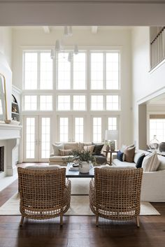 Home Renovation Inspiration - Tour the big living spaces of our Cove Remodel! Living Room Designs, Living Room Decor, Living Spaces, Living Rooms, Living Room Windows, Home Renovation, Home Remodeling, Plywood Furniture, Modern Furniture