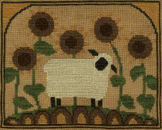 XS103-Sunflower Sheep finished