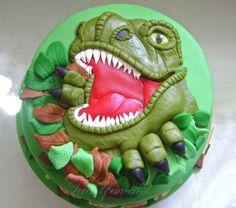 Dinosaur cake — Birthday Cakes