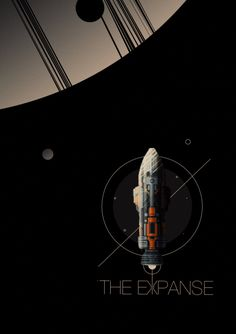 The Expanse - PosterSpy Spaceship Art, Spaceship Design, The Expanse Tv, The Expanse Ships, Leviathan Wakes, Hard Science Fiction, Sci Fi Wallpaper, Concept Ships, Lost In Space