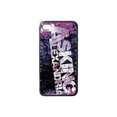 Asking Alexandria iPhone Case ❤ liked on Polyvore