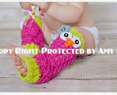 Owl leg warmers *Im hoping Maci gets some of these Aunt Anne....lol